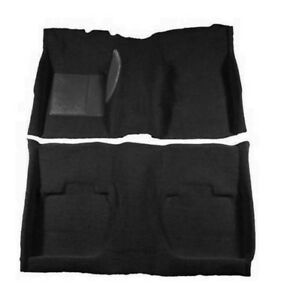 New, 1967-1968 Cougar Black Coupe Carpet Set Molded by ACC Nylon Hardtop