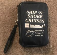 Ship N Shore Cruises Travel Agency Bag Vintage American Express Expandable