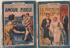 LOT de 2 MON ROMAN COMPLET ILLUSTRE - JACQUES D'EMBALETTE/PAUL DANCRAY - ROUFF