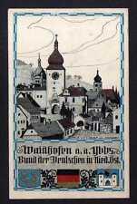 113292 AK Waidhofen an der Ybbs Künstlerkarte Adolf von Schwarz um 1930 Bund der