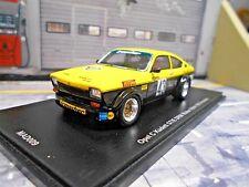 OPEL Kadett C Kadett GT/E Coupe DRM 1976 #43 Röhrl Irmscher Spark NEU 1:43