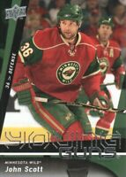 2009-10 Upper Deck Hockey #236 John Scott YG RC Minnesota Wild