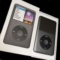 Apple iPod classic 7th Generation U2 128GB SSD MP4 w//1800mAh 150hrs New Battery