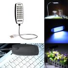 Flexible Bright Mini 28 LED USB Light Computer Lamp for Notebook Computer PC JK~
