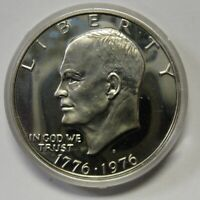 1976-S Silver Proof Eisenhower Ike Dollar in Original Mint Capsule Shipped FREE
