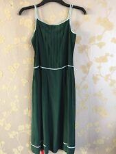 Paul Smith Black Label Women Green 100% Silk Dress Size:38 BNWT
