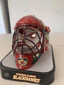 Chicago Blackhawks NHL Hockey Mini Helmet Goalie Mask