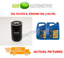 PETROL OIL FILTER + FS PD 5W40 OIL FOR LAND ROVER DISCOVERY 3.5 154BHP 1990-94