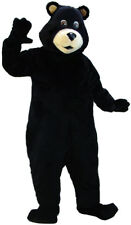 Black Bear Professional Quality Lightweight Mascot Costume Adult Size