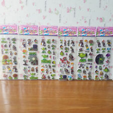 LOT 6 PCS, Plants vs. Zombies Stickers Send children gifts FREE SHIPPING