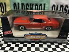 1969 Camaro SS 396 Hugger Orange  American Muscle 1:18 Scale