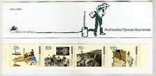 Azores Booklet sc#409b (1991) Typical Professions MNH** (T)