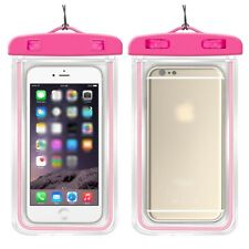 Mobile Phone Fluorescent Underwater Case Pouch Waterproof Bag Cover New Dry