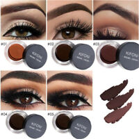 5 Colors Eyebrow Cream Tint Waterproof Pomade Gel Enhancer Eye Brow w/ Brush AU