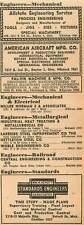 1946 Wm H Schutt Standards Engineers Pal-Vin Machine Cleveland Ohio Ad