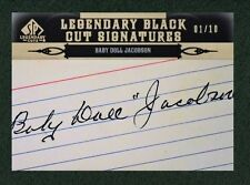 Baby Doll Jacobson 2011 SP Legendary Cuts 1/10 Cut Auto Autograph Signature D:77