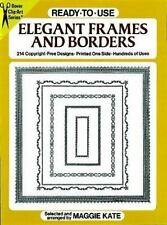 Ready-to-Use Elegant Frames and Borders (Dover Clip-Art)