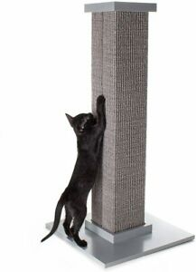 SmartCat Ultimate Scratching Post Grey