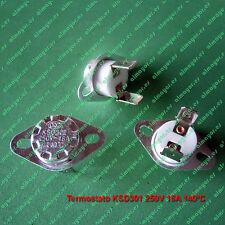 Termostato KSD301 KSD302 250V 16A 140ºC contacto NC, ceramic Switch Thermostat