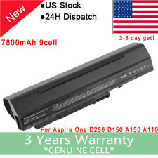 9Cell Battery for Acer Aspire One ZG5 A110 A150 AOA150 D150 D250 531 571 UM08A31
