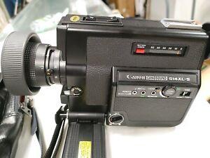 Vintage   Canon Canosound 514XL- S. Super 8 Movie Camera