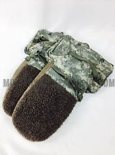 USGI Military Issue Digital Camo Arctic Mittens Extreme Cold Weather Gloves Sm