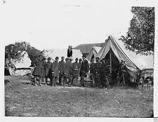 Abraham Lincoln and George McClellan Antietam Sharpsburg 8x10 Civil War Photo