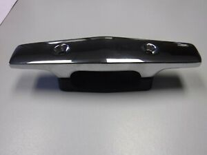 Perko Chrome Cleat With Black Plastic Open Base