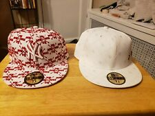 2 NEW ERA FITTED CAPS