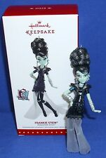 Hallmark Ornament Monster High Frankie Stein 2015 Frankenstein's Daughter NIB