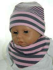 NEU Mütze Baby Newborn Erstlingsmütze Sabbertuch Halstuch Set rosa grau dawanda
