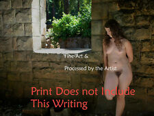 FINE ART NUDE WOMAN COLOR PHOTOGRAPH DIRECT from ARTIST