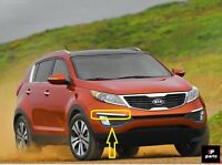 NEW KIA SPORTAGE FRONT BUMPER MOLDING CHROME TRIM RIGHT O/S 2010 - 2015