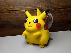 """Pokemon 6"""" Pikachu Plushy 2000 Play By Play Toys With tags Nintendo prize toy"""