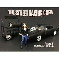 THE STREET RACING CREW FIGURE IV FOR 1:18 BY AMERICAN DIORAMA 77434