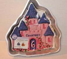 Wilton Enchanted Castle Cake Pan #2031 Birthday Princess Sand Castle Knights NEW