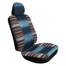 Pilot Automotive Boho Denim Seat Cover Car Truck SUV Van - Sold in Pair
