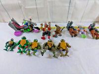 Lot of 1980s-Recent Teenage Mutant Ninja Turtles TMNT Action Figures Toys