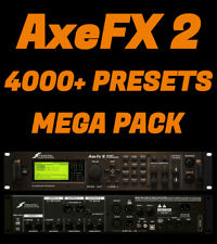 ✪ Fractal AXE FX 2 ✪  4000+ PRESETS / PATCHES MEGA PACK ✪ +BONUS IR's ✪ AxeFX 2