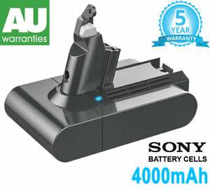 for Dyson V6 4.0Ah Battery SV03 SV04 SV09 DC58 DC59 DC61 DC62 DC74 967810-21