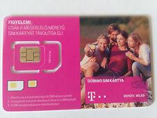 Simkarte Ungarn Telekom Prepaid Sim card T-mobile Budapest Hungary Registered