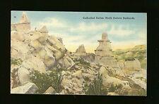 Cathedral Buttes - North Dakota Badlands - One Cent Stamp Box
