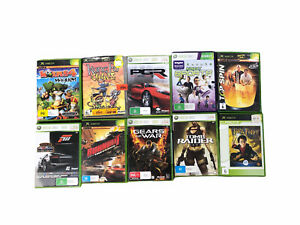 Bulk Xbox 360 And Xbox Games Lot Of 10