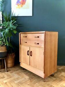 G Plan Brandon Vintage mid century Cabinet Drawers Sideboard Retro Hairpin Legs