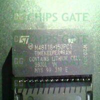 1PCS ST M48T18-I DIP-28 64Kb 8K x 8 TIMEKEEPER SRAM 64K IC