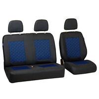 Schwarz-blau Effekt 3D Sitzbezüge für SUZUKI SWIFT Autositzbezug Komplett
