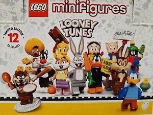 LEGO LOONEY TUNES 71030 MINIFIGURES KOMPLETT SATZ ALLE 12 FIGUREN UNGÖFFNET 2021