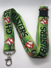 Ghostbusters Print Lanyard Key Chain Id Badge Holder