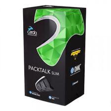 Cardo Scala Rider Packtalk Slim Solo Motorcycle Bluetooth Headset W/ DMC