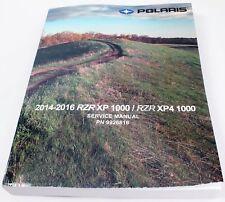 Polaris 2014-2016 RZR XP Xp4 4 1000 Service Shop Repair Manual 9926816 OEM